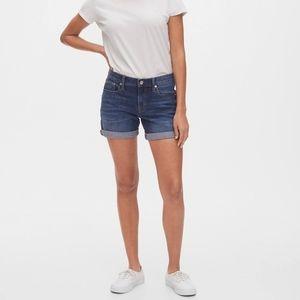 GAP 1969 Real Straight High Jean Shorts. Size 27/4